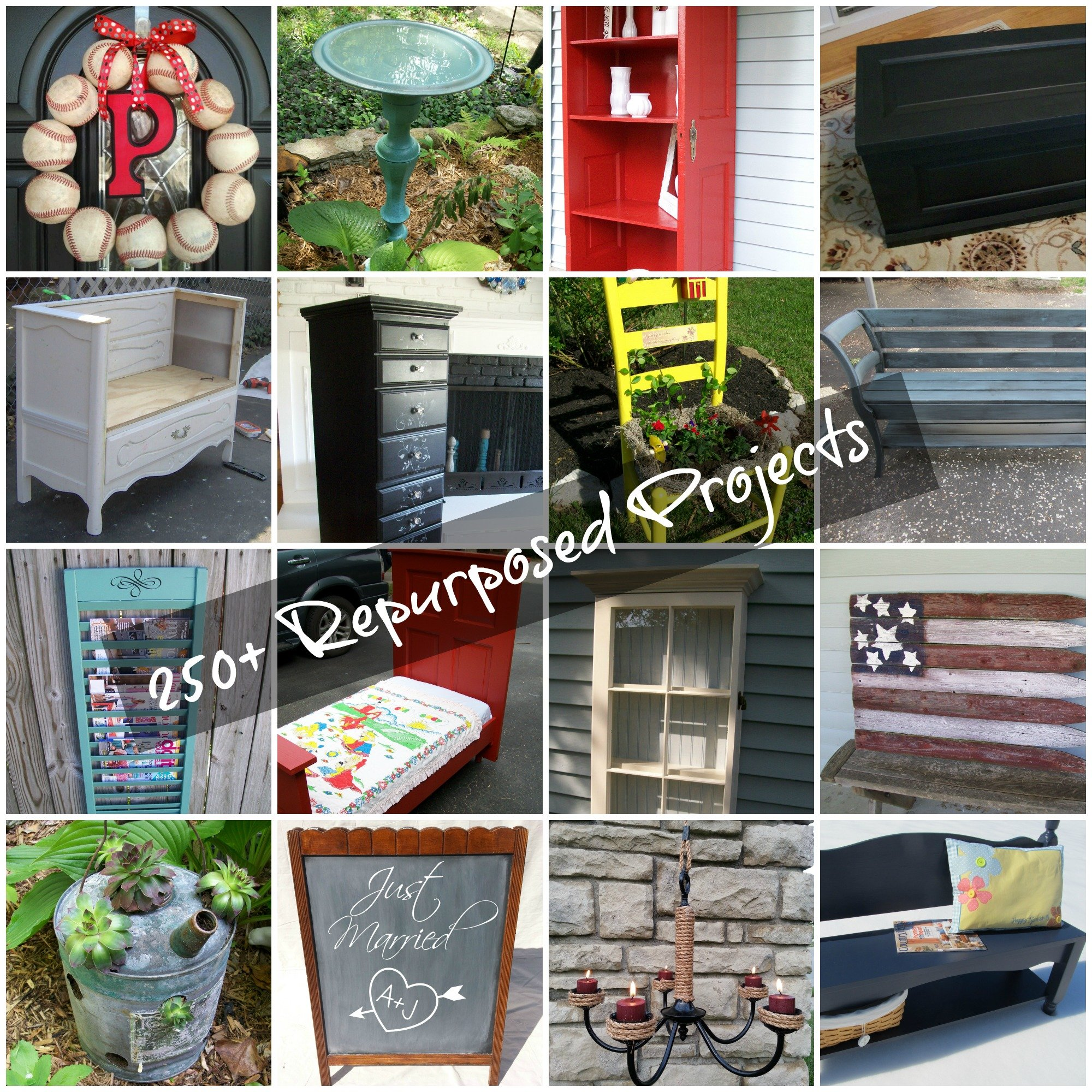 Repurposed Furniture Projects And More