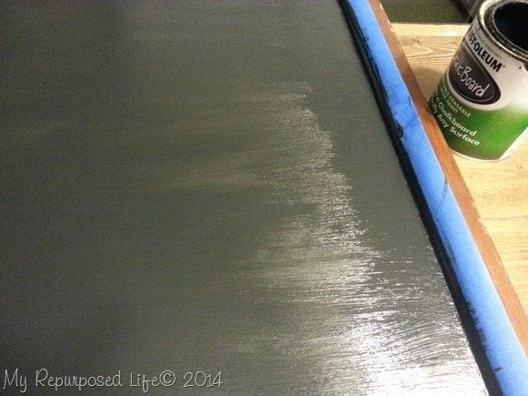 chalkboard-paint-repurposed-crib
