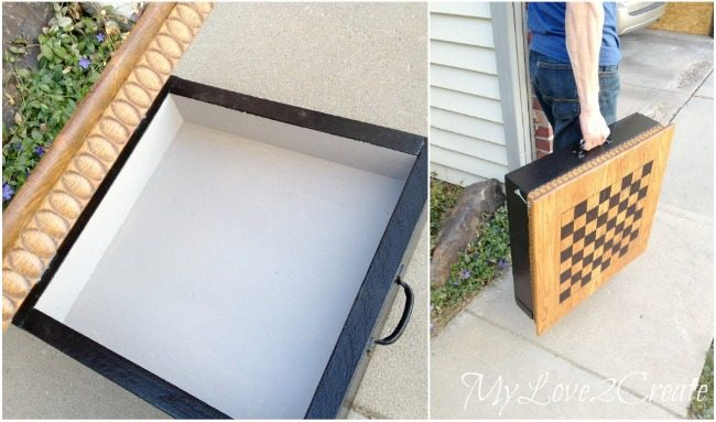 Easy to carry, and store game box