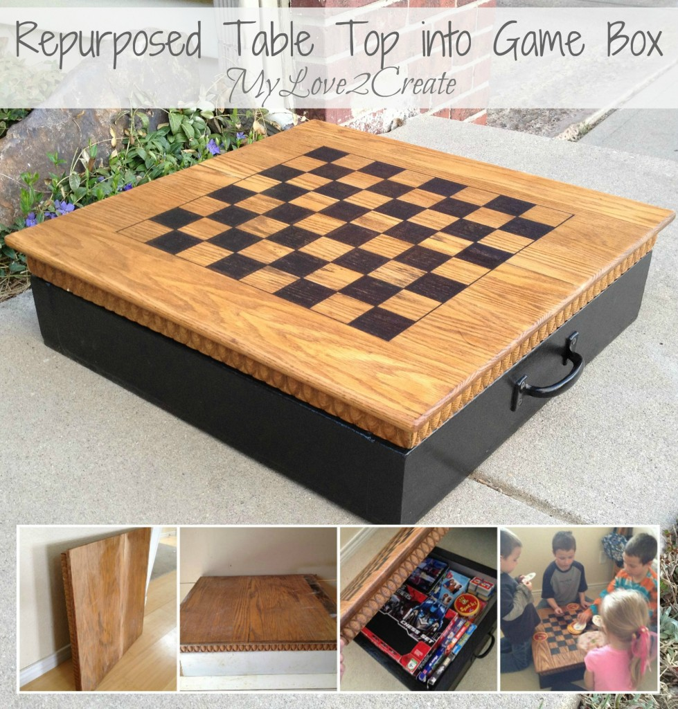 Table Top Into Game Box