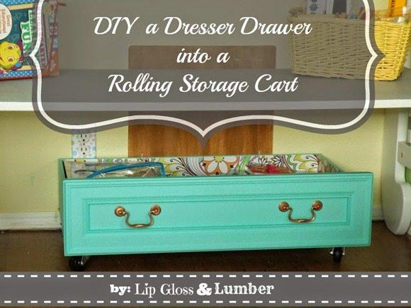 diy-dresser-drawer-rolling-storage