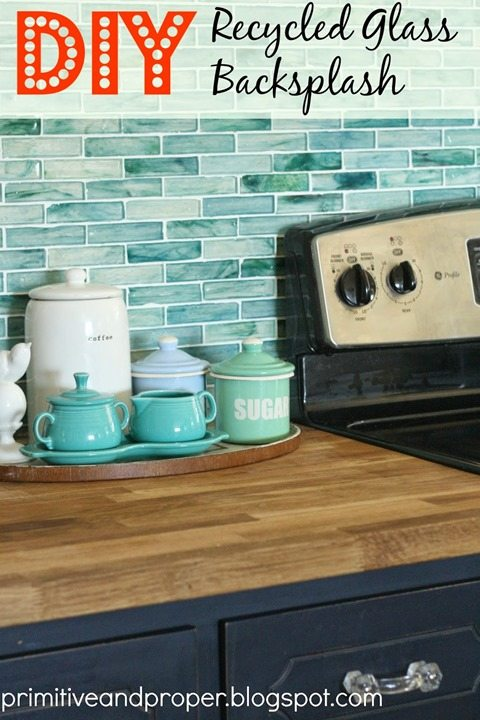 diy-recycled-glass-tile-backsplash