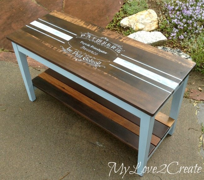 French inspired piano bench