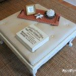 Thrifty-Coffee-Table-turned-Ottoman-top-finished-artsychicksrule.com-coffeetable-ottoman-diy-600x400