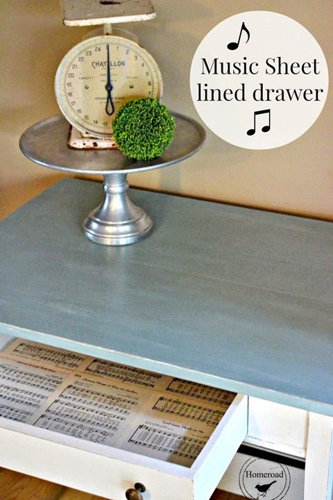 blue-music-sheet-lined-drawer