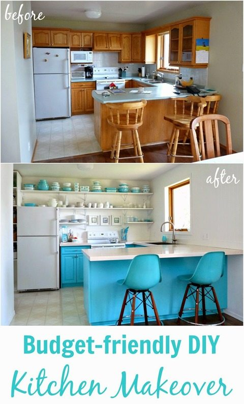 Budget Friendly Kitchen Makeover: Catch As Catch Can 169