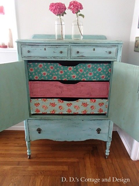 decoupage chest of drawers 2