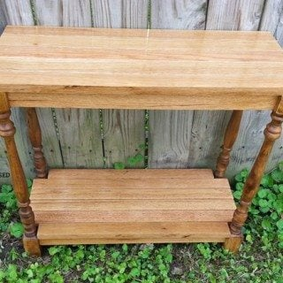 DIY Spindle Table