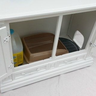 Hide Your Cat Litter Box with Litter Box Furniture