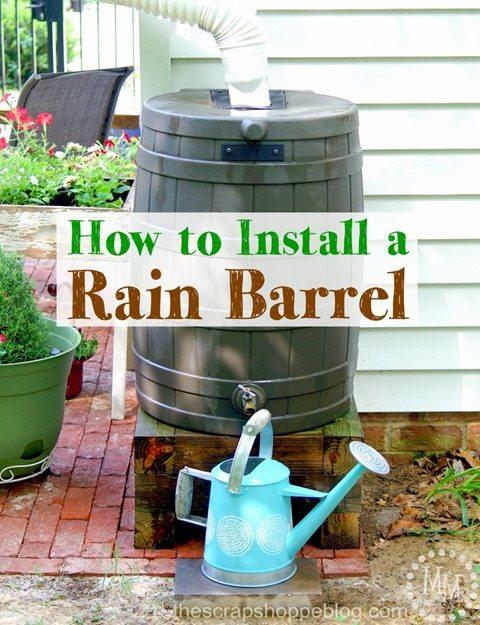 install-rain-barrel