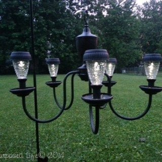 Chandelier Solar Light