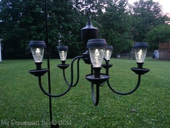 solar-light-chandelier-repurposed