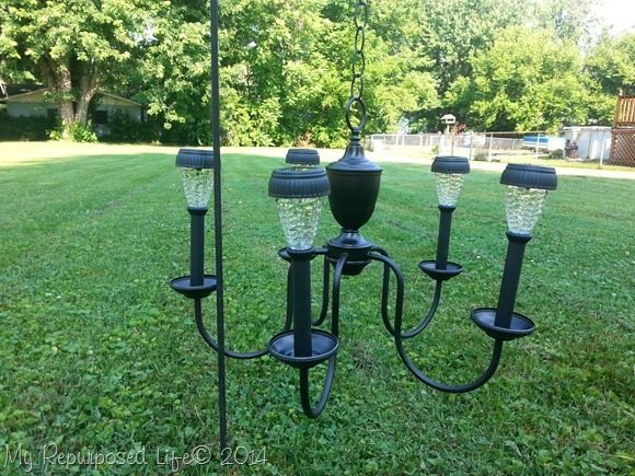 solar-lights-repurposed-chandelier