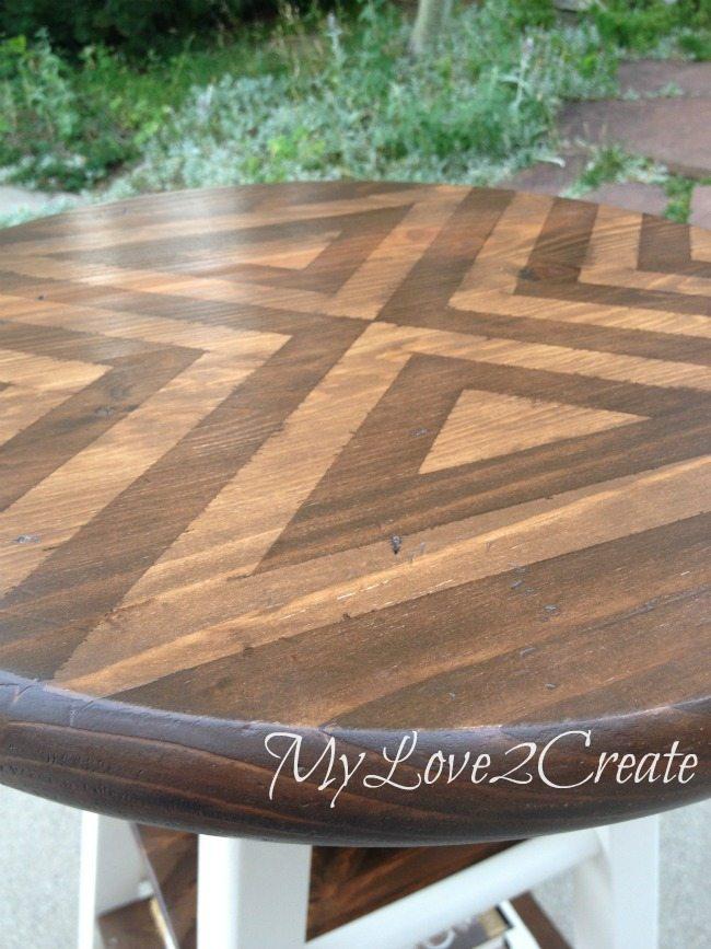 MyLove2Create, Stool turned side table