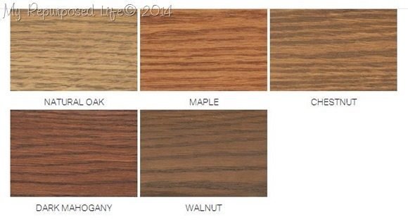 Dark Mahogany Wood Color ~ Minwax wood finishing