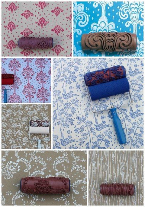 Pattern Paint Roller - Home Design