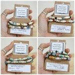 Trashy Crafter Recycled Book Bead Bracelets