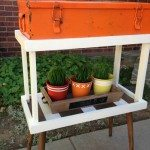 DIY Tray Stand and Old toolbox