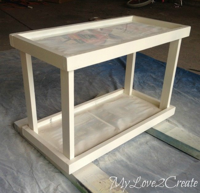 spray painting tray stand