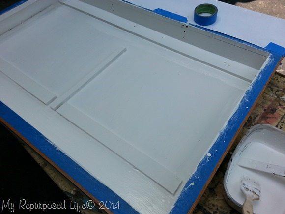 painting-repurposed-medicine-cabinet