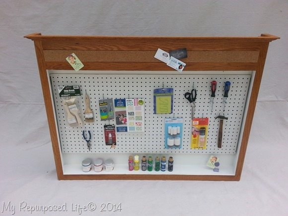 repurposed-medicine-cabinet-portable-craft-station