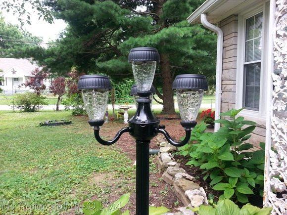 Elegant solar lights vintage lamps