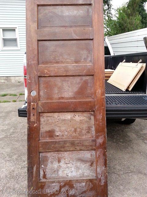 vintage-5-paneled-door