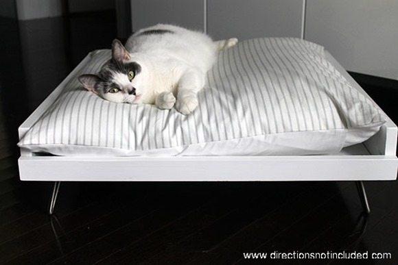 DIY-mid-century-pet-bed-hairpin-legs