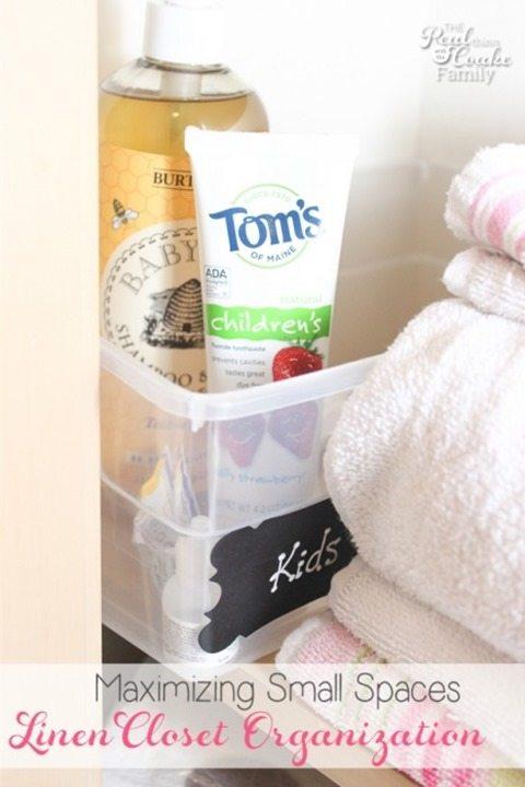 Organization-linen-closet