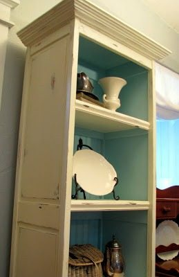 Repurposed Bifold Doors Bookcase My Repurposed Life 174