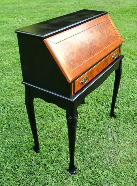 black-wood-toned-salvaged-secretary