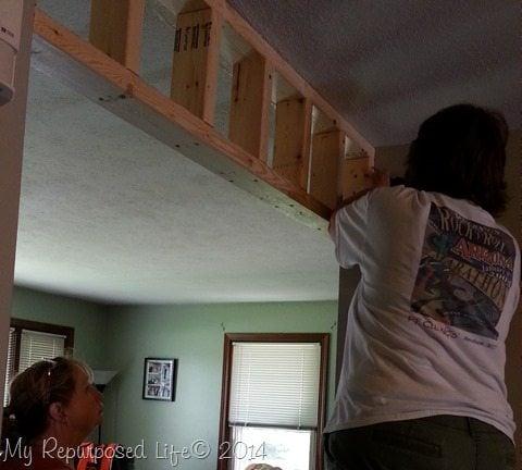 Installing Real Carriage Barn Door My Repurposed Life 174
