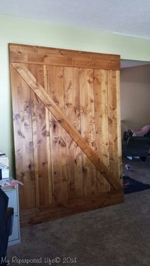 Installing Real Carriage Barn Door My Repurposed Life