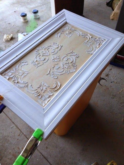 stencil-plaster