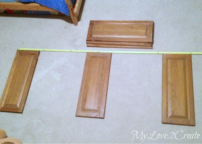 MyLove2Create Measuring Out Cabinet Doors