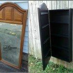 Mirror Jewelry Armoire