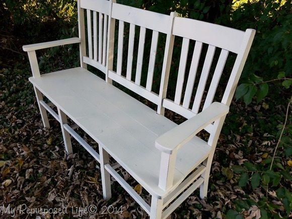 white-chair-bench