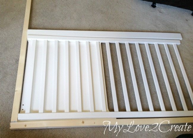 repurpose furniture dog. MyLove2Create: Repurposed Crib Into Dog Crate Repurpose Furniture