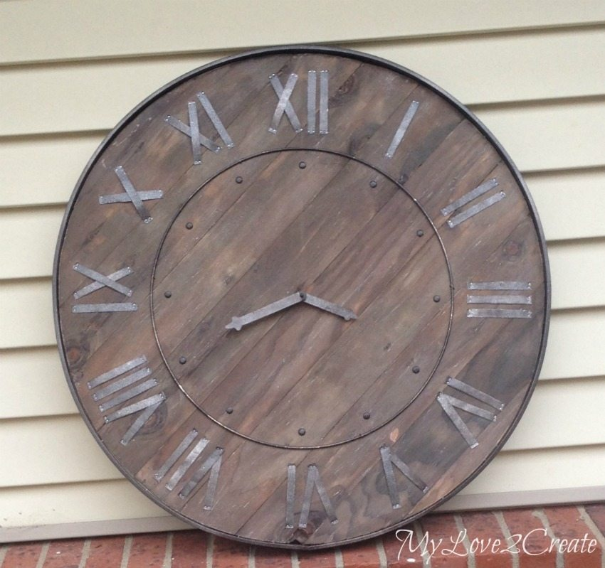 image gallery large rustic wall clocks