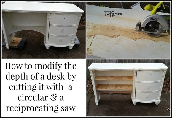 MyRepurposedLife-desk-before-after-sawing