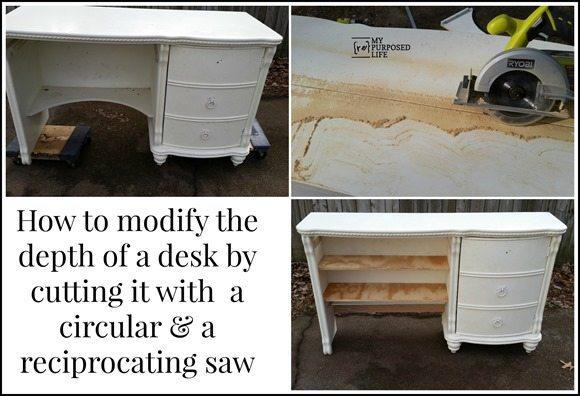 MyRepurposedLife-desk-before-after-sawing