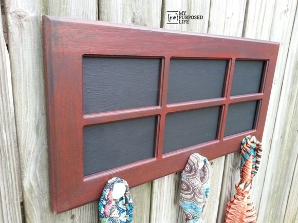 Cabinet Door Coat Rack My Repurposed Life