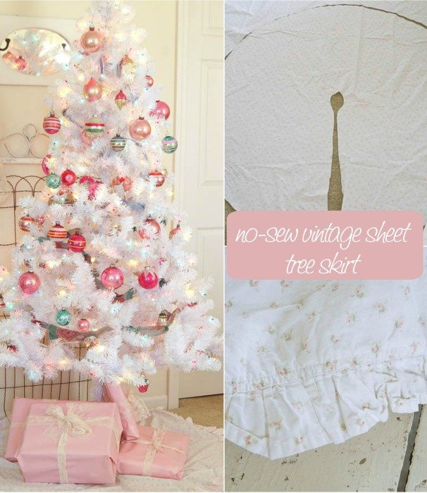 no-sew-vintage-sheet-tree-skirt
