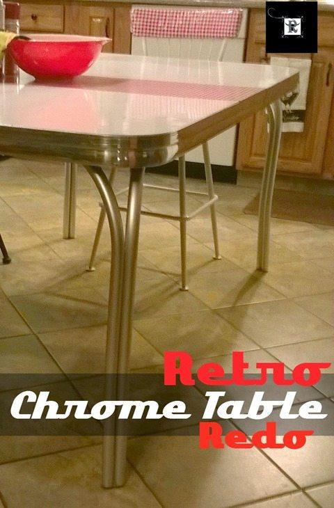 retro-chrome-table-makeover