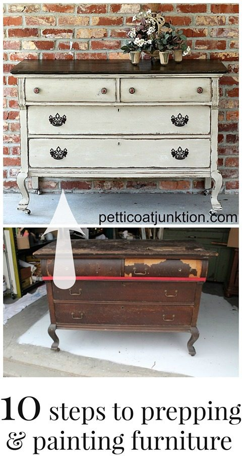 10-steps-to-prepping-and-painting-furniture-collage-petticoat-junktion