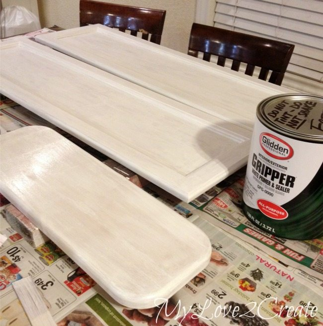 Painting cupboard doors