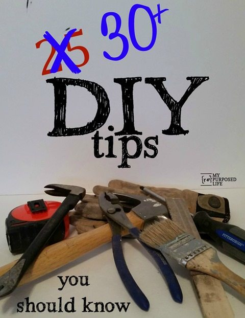 MyRepurposedLife-30-DIY-tips