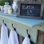 MyRepurposedLife-green-bathroom-shelf-towel-rack.jpg