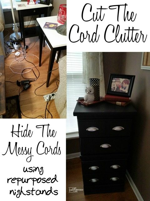 MyRpurposedLife-cut-cord-clutter-repurposed-nightstands