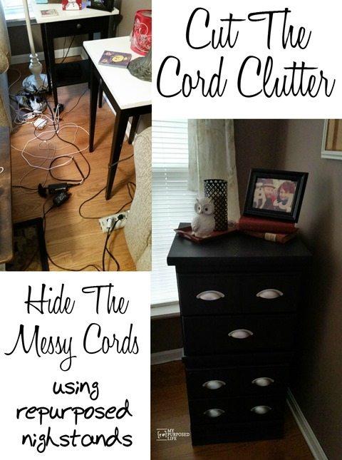 MyRpurposedLife-cut-cord-clutter-repurposed-nightstands